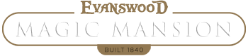 Evanswood Magic Mansion Logo